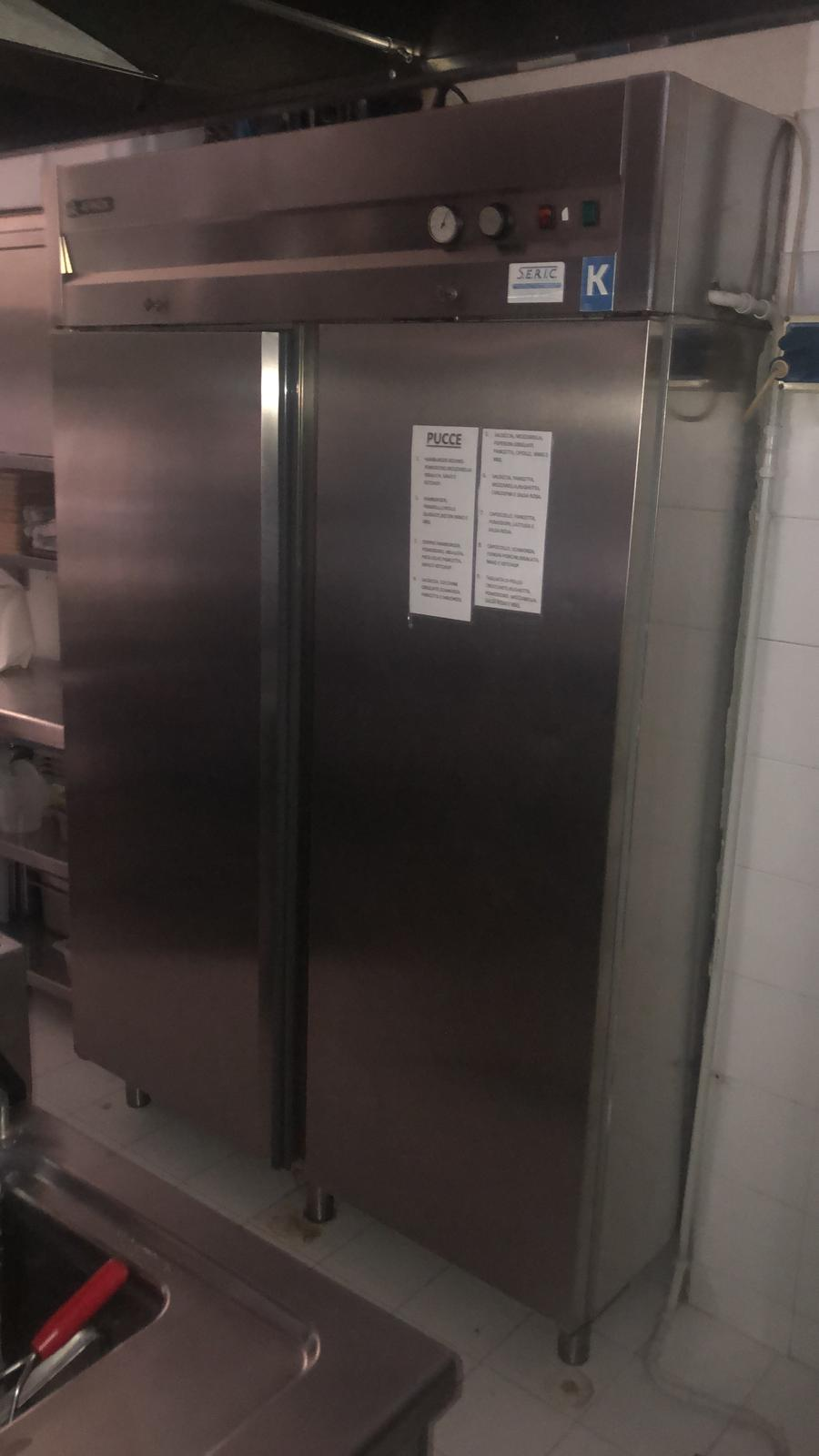 Frigo lt1400 +piastra friggitrice 4fuochi bollitor