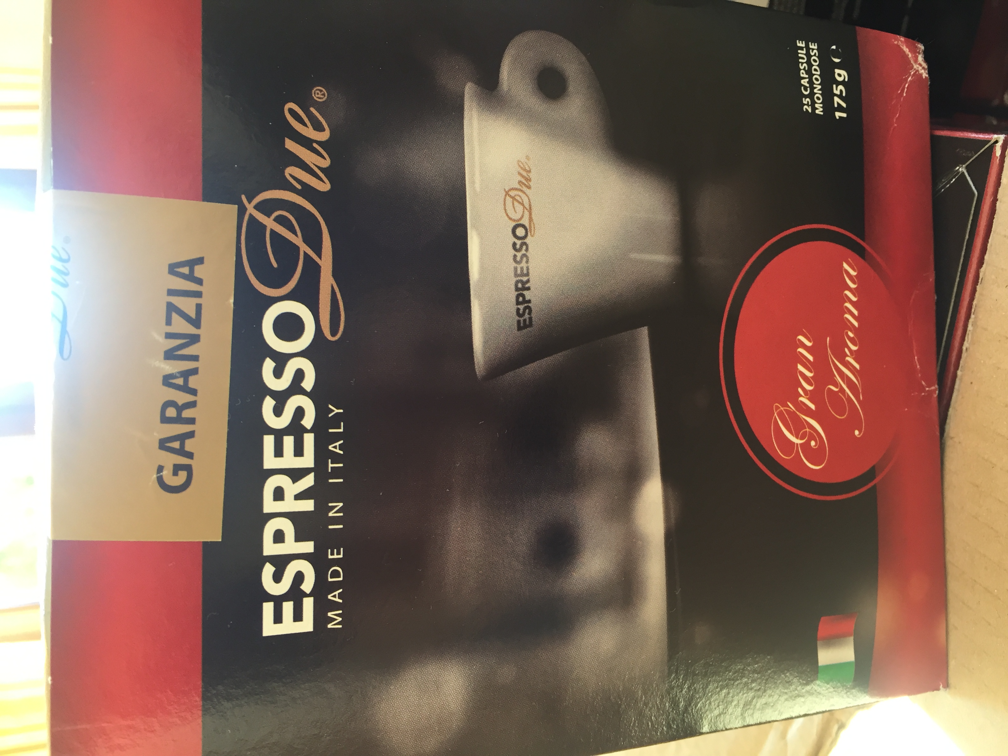 Capsule caffe'espressoDue