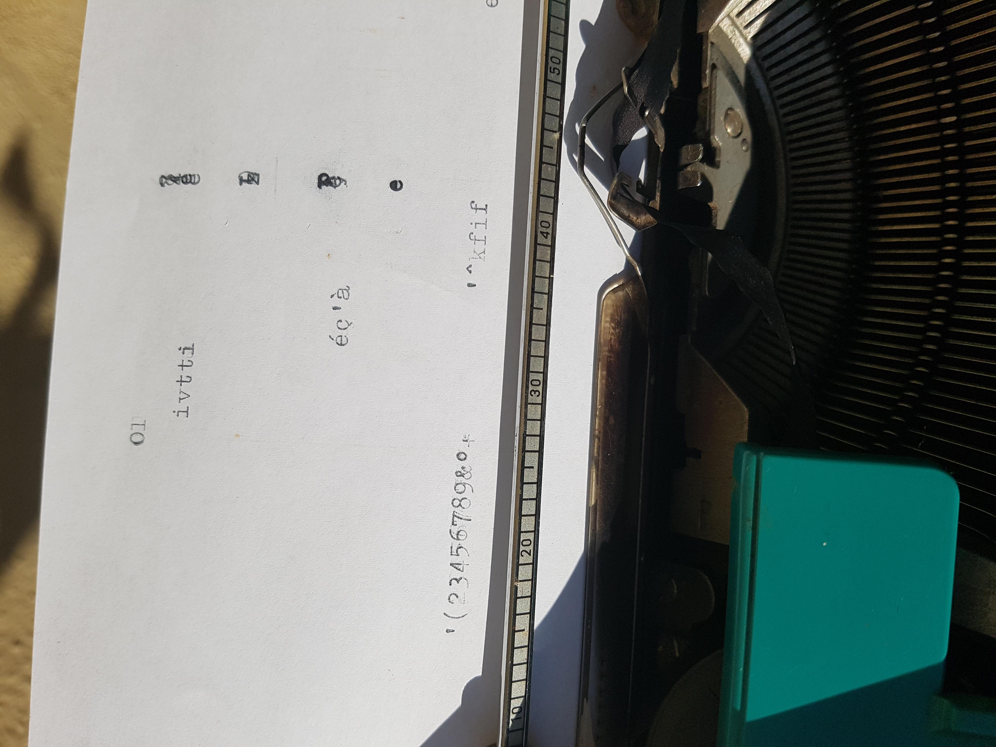 Stupenda macchina da scrivere OLIVETTI STUDIO 45,