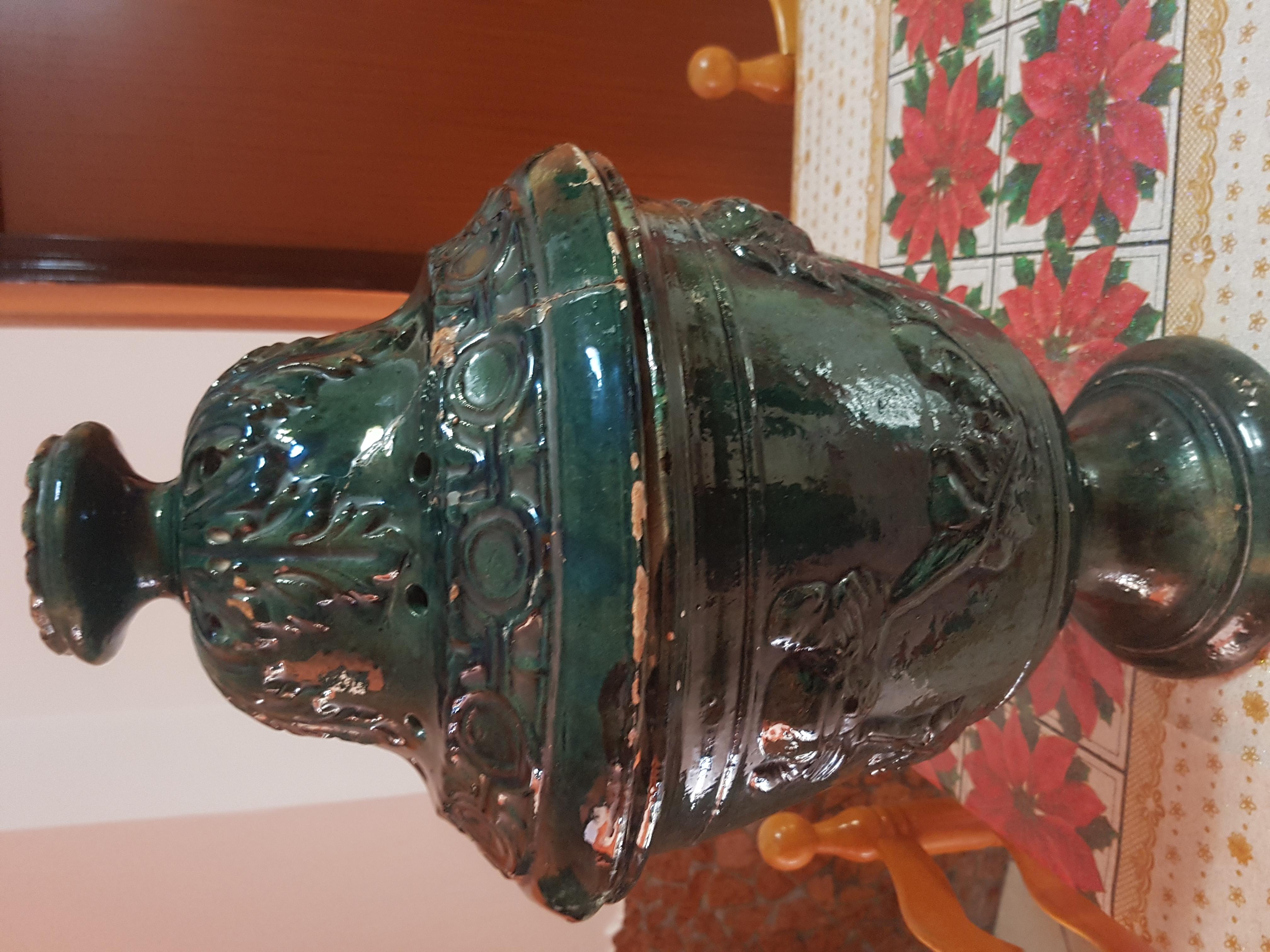 Vendo braciere antico di terracotta antico