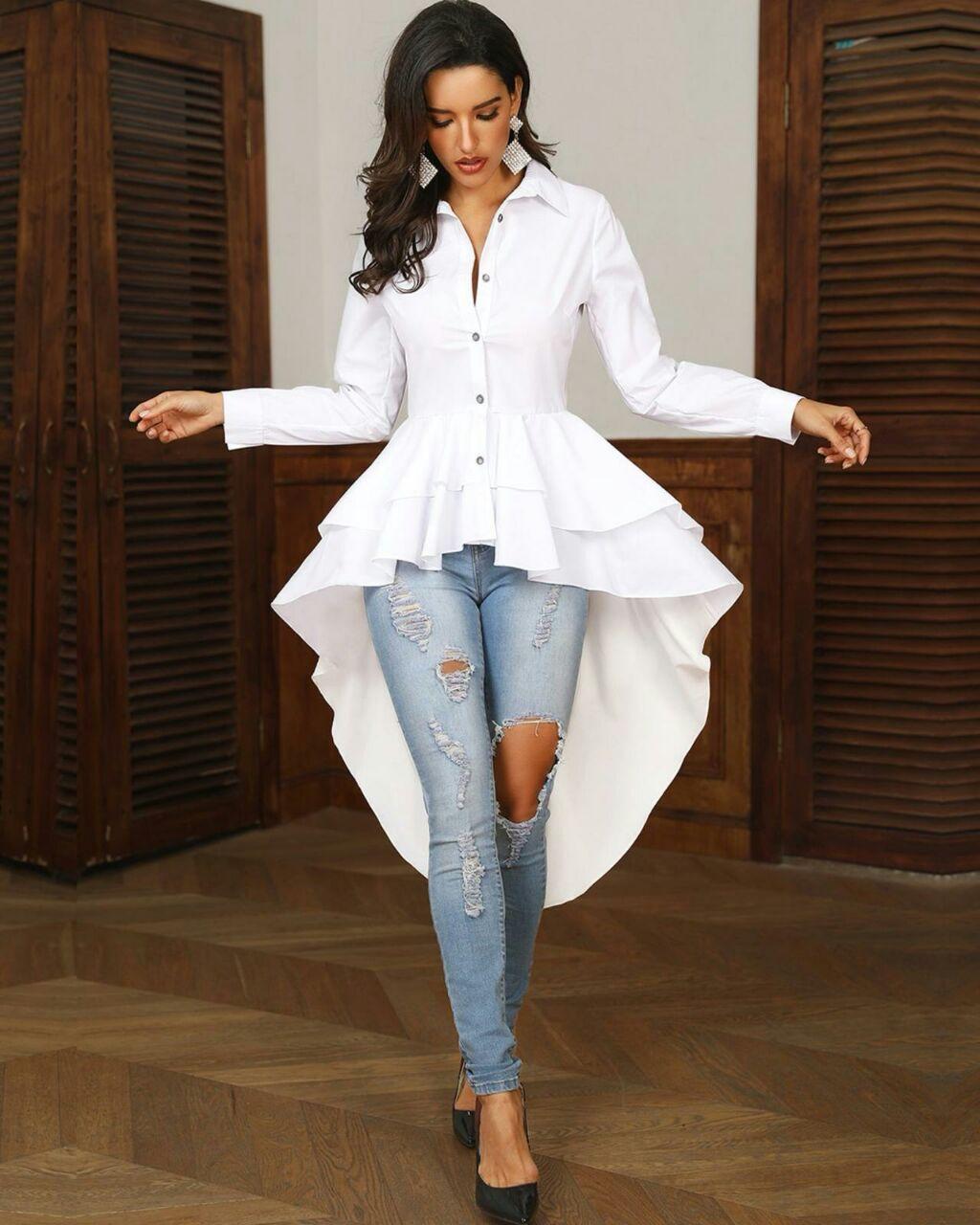 Bellissima camicia da donna, nuovo modello