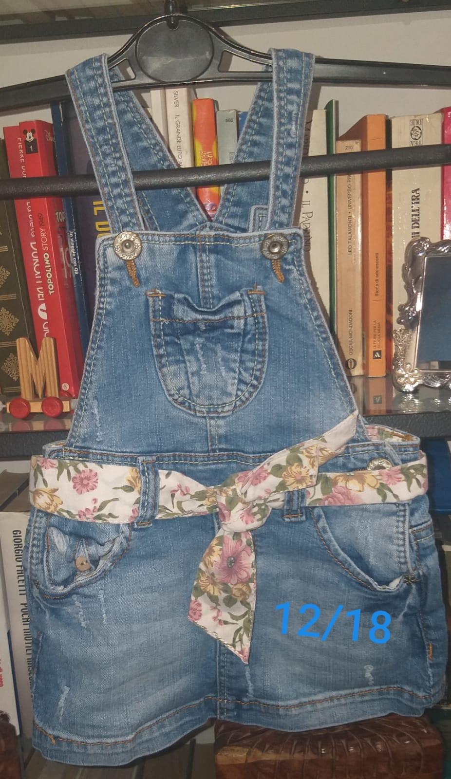 Abbigliamento bambina 0-24 mesi vendo 1-5€