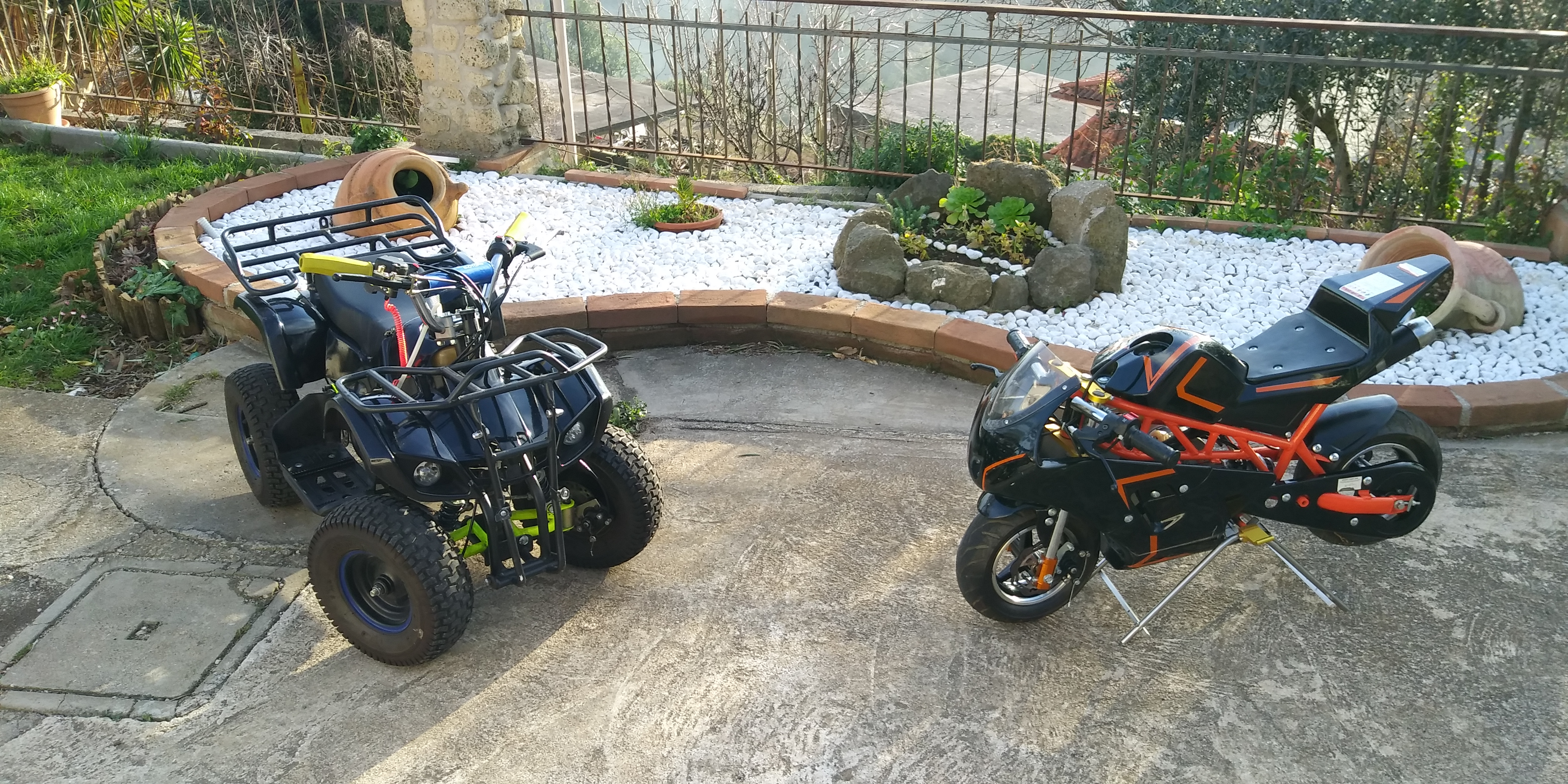 Mini quad 50cc e mini moto gp 50cc