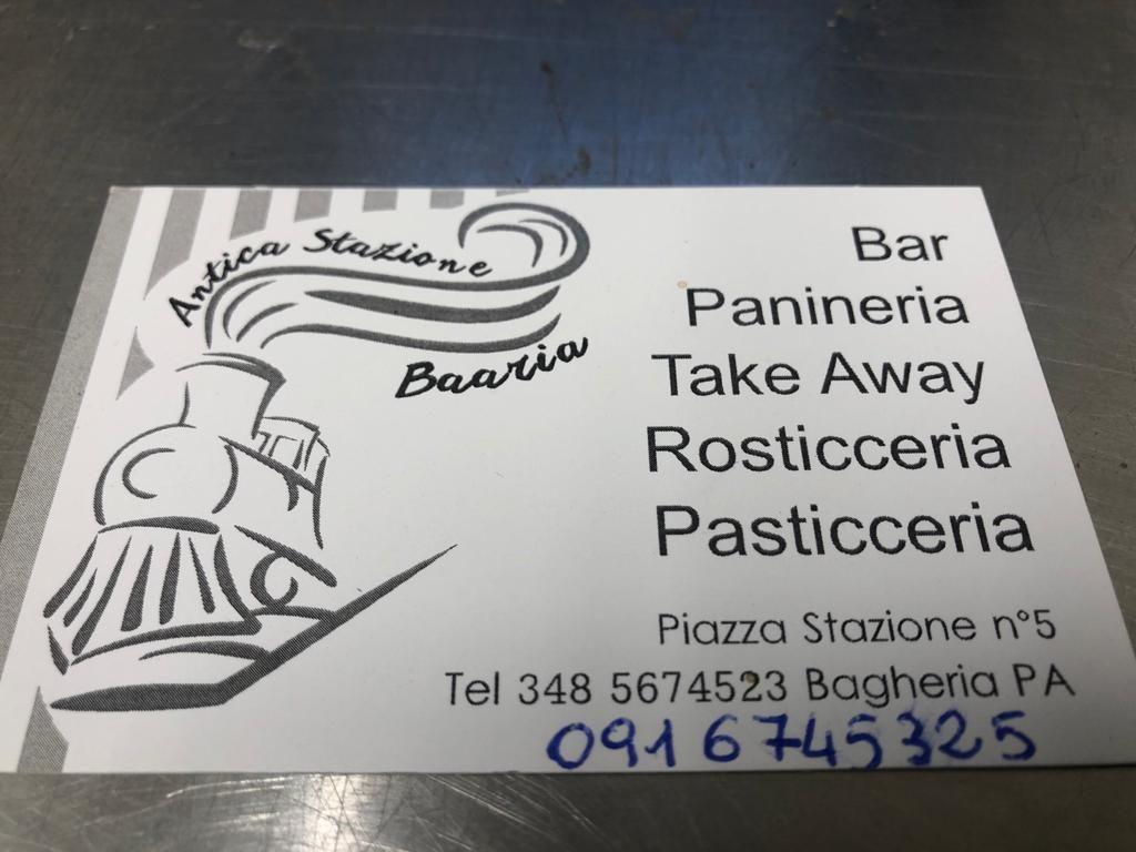 Bar gastronomia Servizio a domicilio