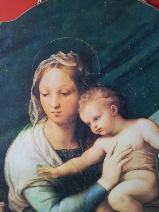 Capezzale Madonna arte fiorentina.