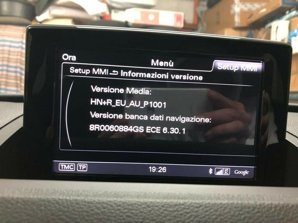 AUDI A1 A4 A5 A6 A8 Q3 Q5 Q7 MMI 3G+ e HIGH 6.30.1