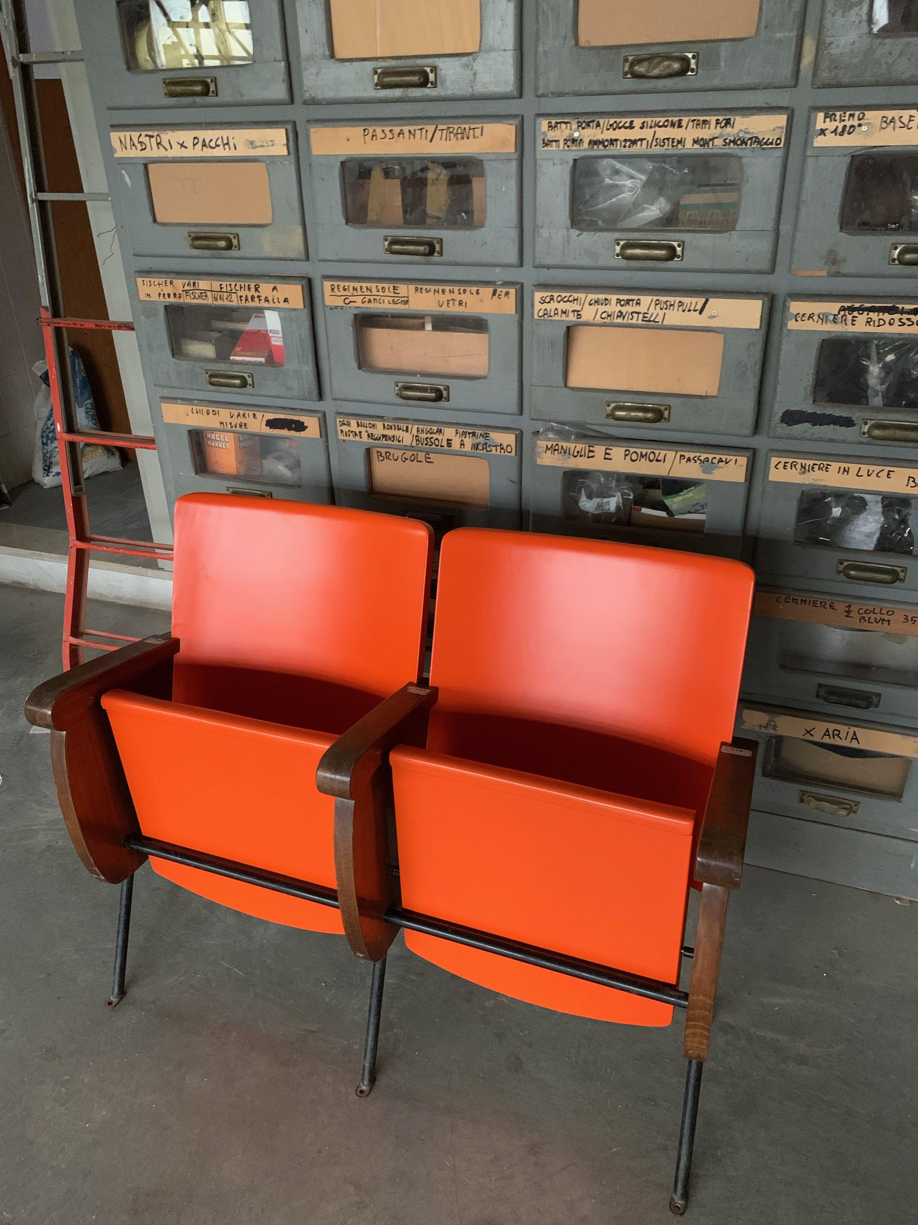 Sedie Cinema Arancioni