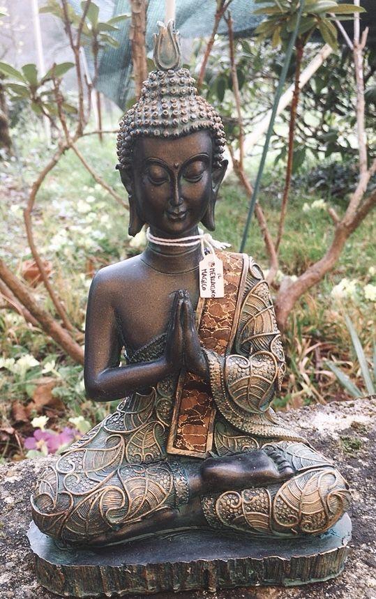 Buddha in preghiera Thailandia cod. art. 18102