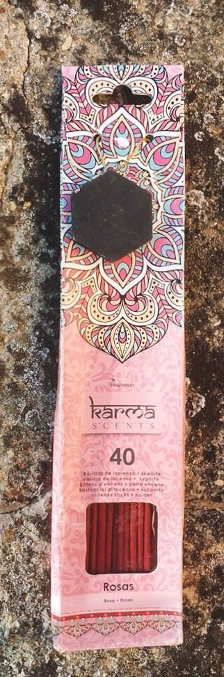 Incenso Karma Scents Rosa cod. art. KSc09