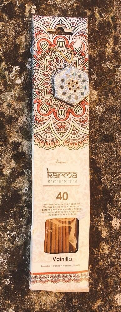 Incenso Karma Scents Vaniglia cod. art. KSc07