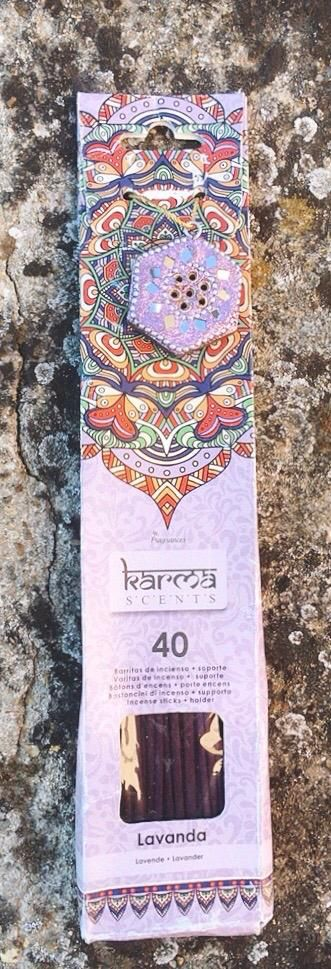 Incenso Karma Scents Lavanda cod. art. KSc10