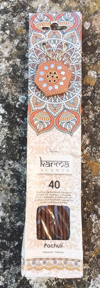 Incenso Karma Scents Patchouli KSc12
