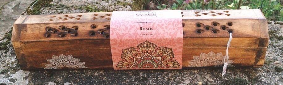 Incenso Karma Scents Rosa KSc14