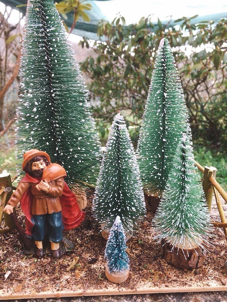 Presepe Vendita Alberi di Natale NMes11
