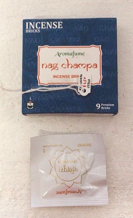 Incenso Aromafume Nag Champa cod. art. 17940