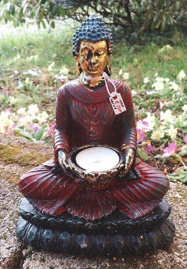 Statua Buddha Abito Antico ABC06