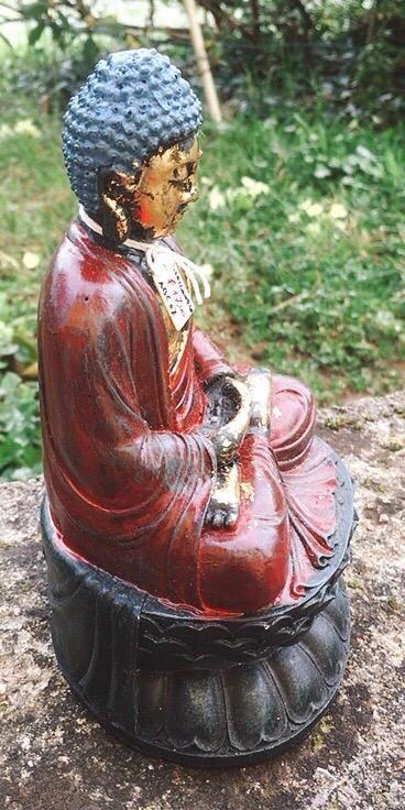 Statua di Buddha in resina cod. art. ABC07