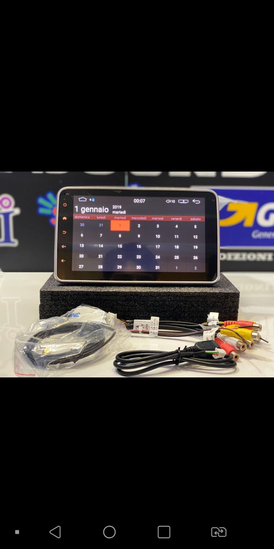 Autoradio con sistema android