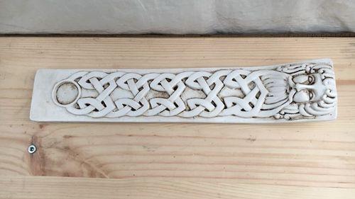 Bruciaincenso Ceramica Uomo Celtico AWMish01