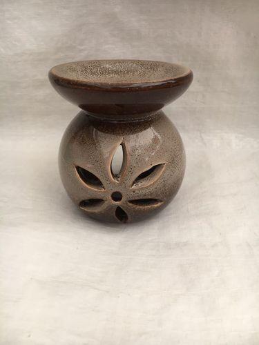 Bruciatore Ceramica Grigio Marrone BCe15