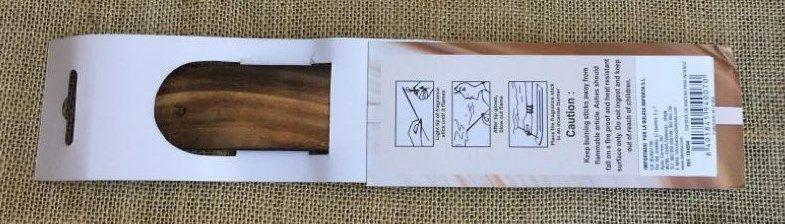 Bruciaincenso palettina legno cod. art. BLe12