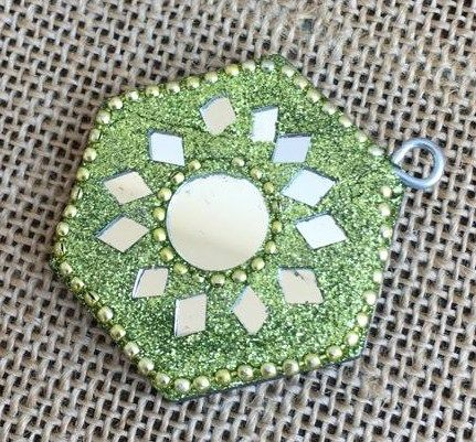 Piattino Verde cod. art. BLe17