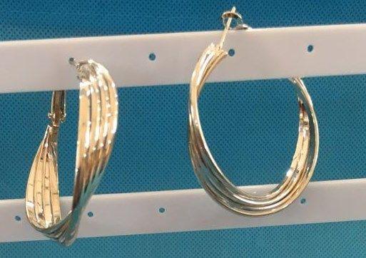 Coppie orecchini Cerchio mod. vari 4
