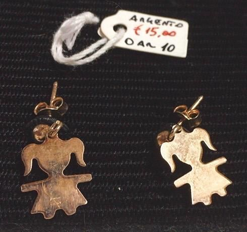 Coppie Orecchini Argento 925 vari modelli