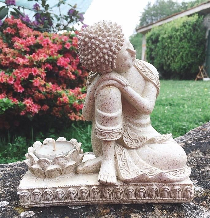 Buddha con Portacandele cod. art. 0115