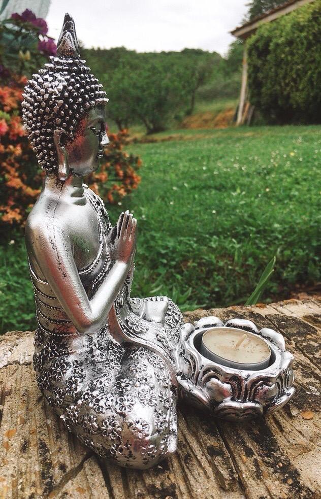 Buddha con Portalumino cod. art. 0124