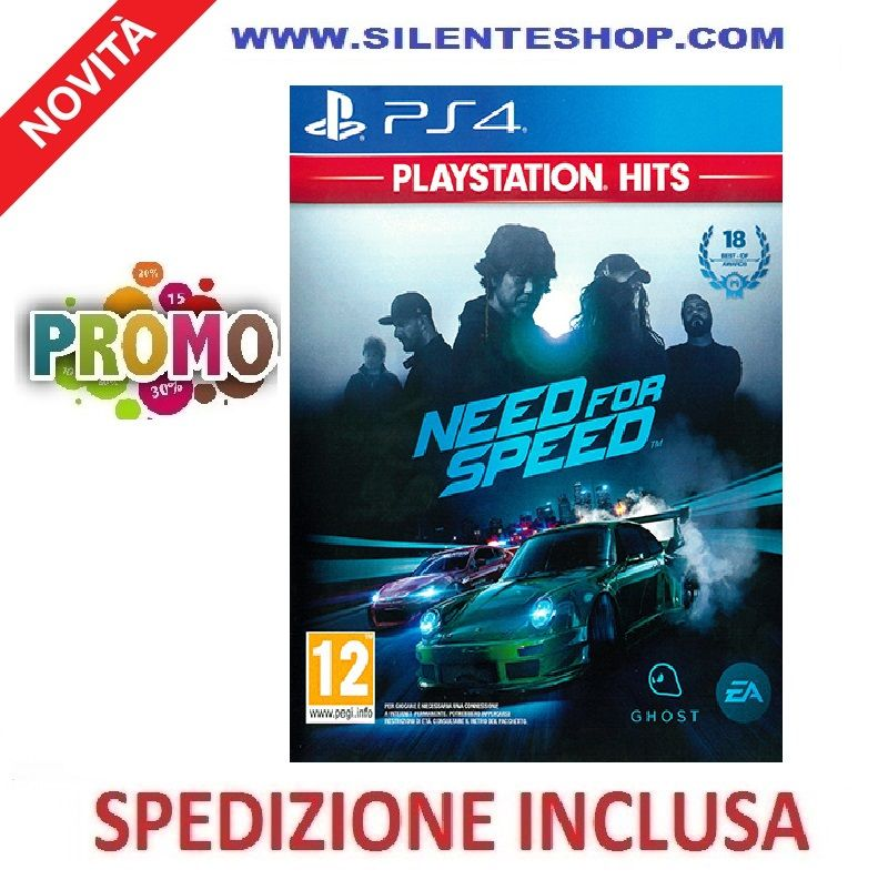 PLAYSTATION 4 PS4 Need For Speed Hits