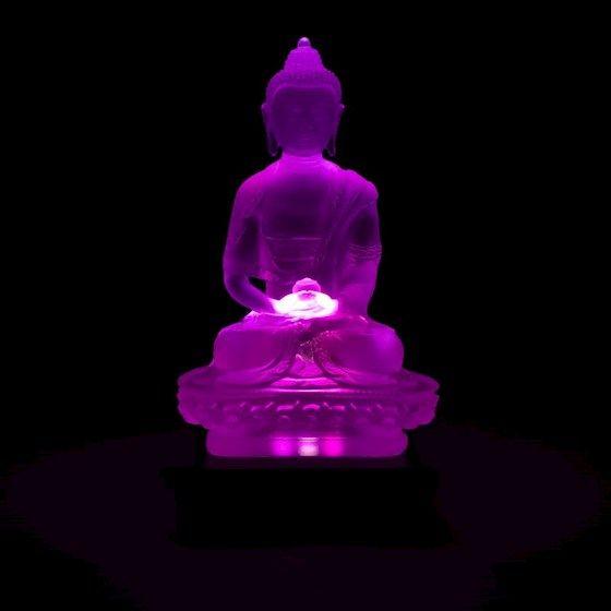 Buddha Amithaba Vetro cod. art. 16618