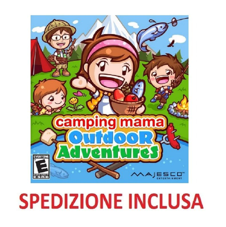NINTENDO DS CAMPING MAMA NDS