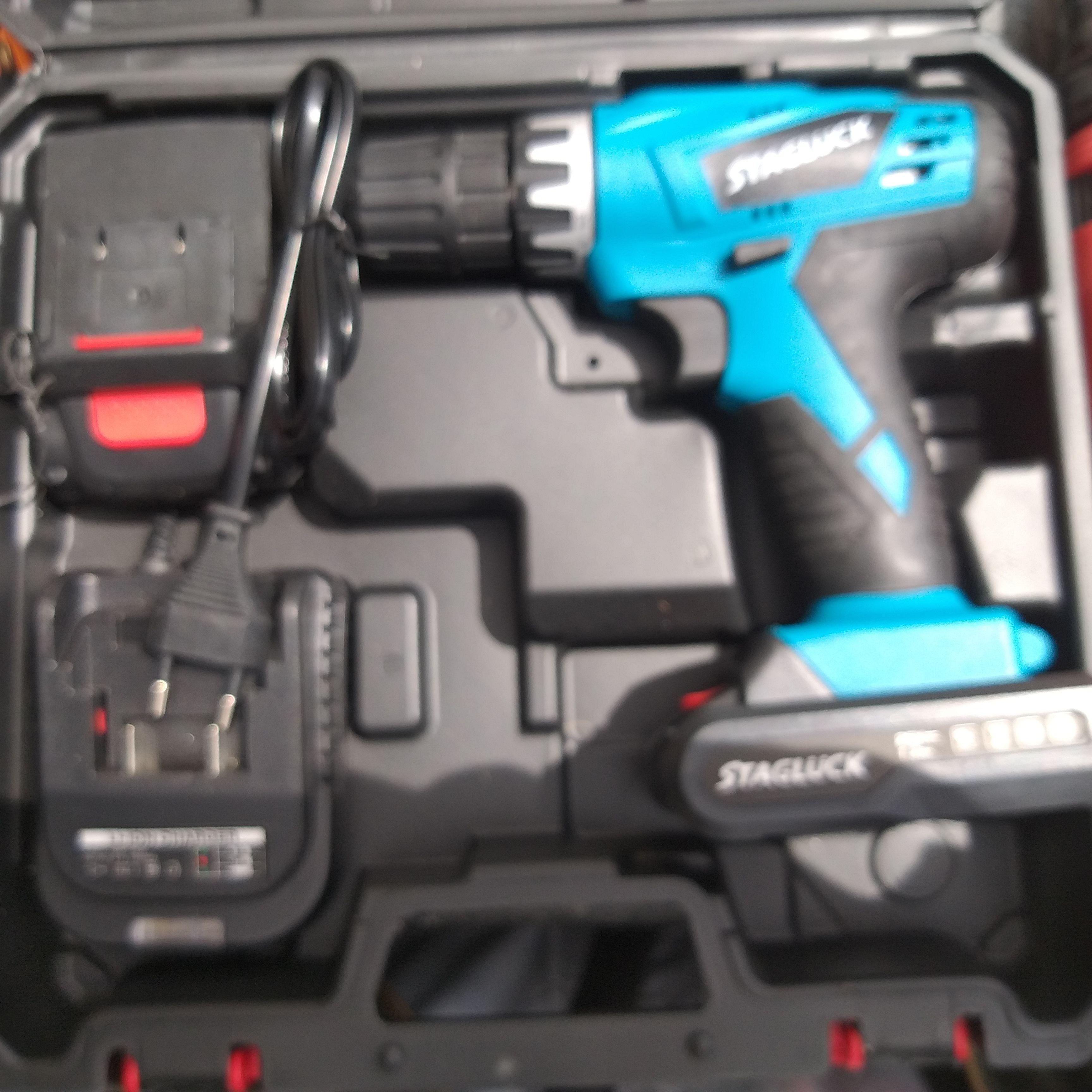 Trapano con 2 batteria a litio 25w