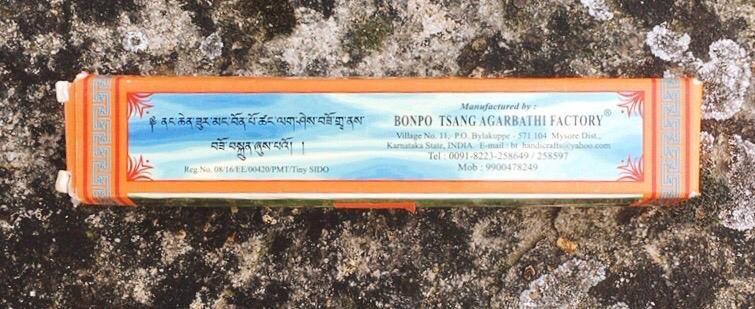 Incenso Tibetano Bonpo Tsang
