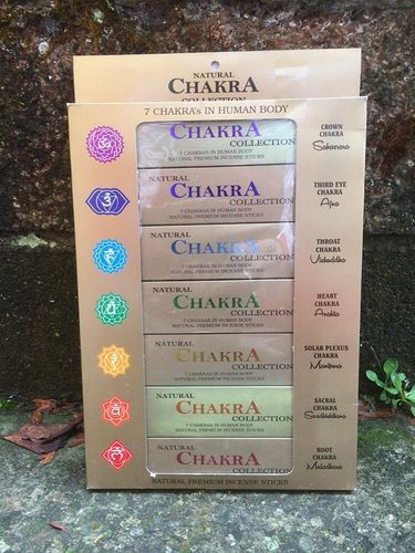 Incenso Chakra Collection
