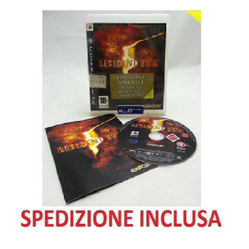 PLAYSTATION 3 Resident Evil 5 Edizione speciale BL