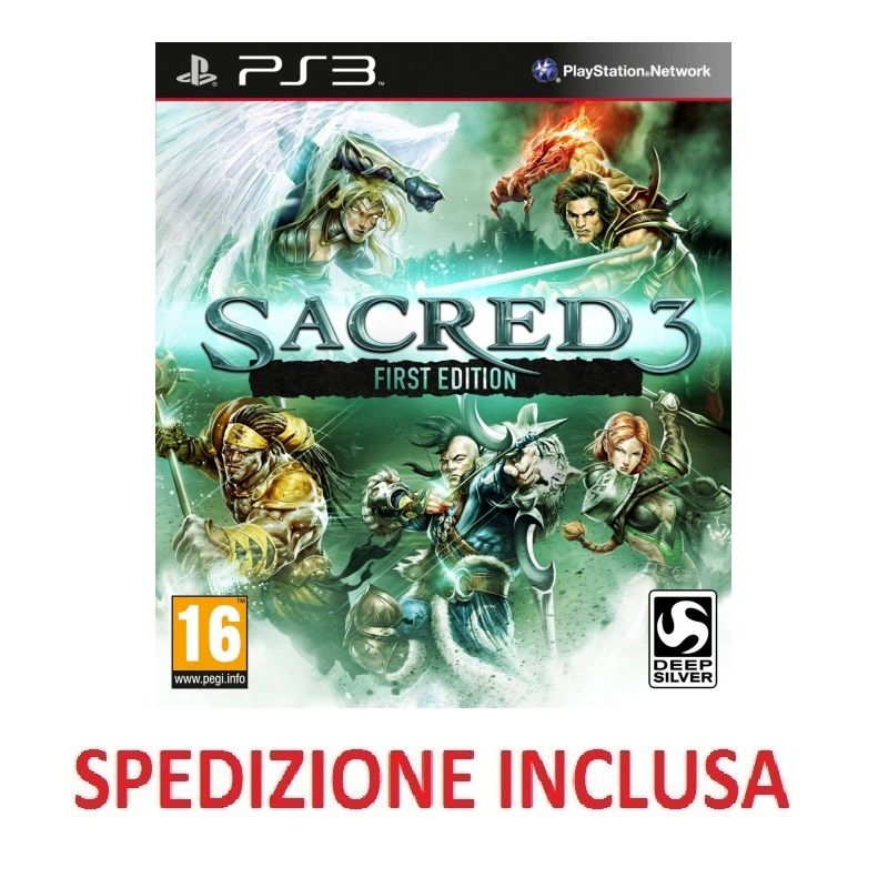 PLASTATION 3 SACRED PS3
