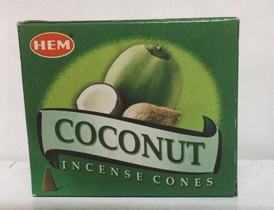 Incenso Coni Cannella Hem04
