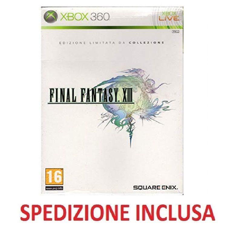Xbox 360 Final Fantasy XIII edizione speciale