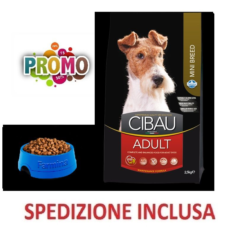 FARMINA CANE CIBAU ADULT MINI BREED pollo 800g