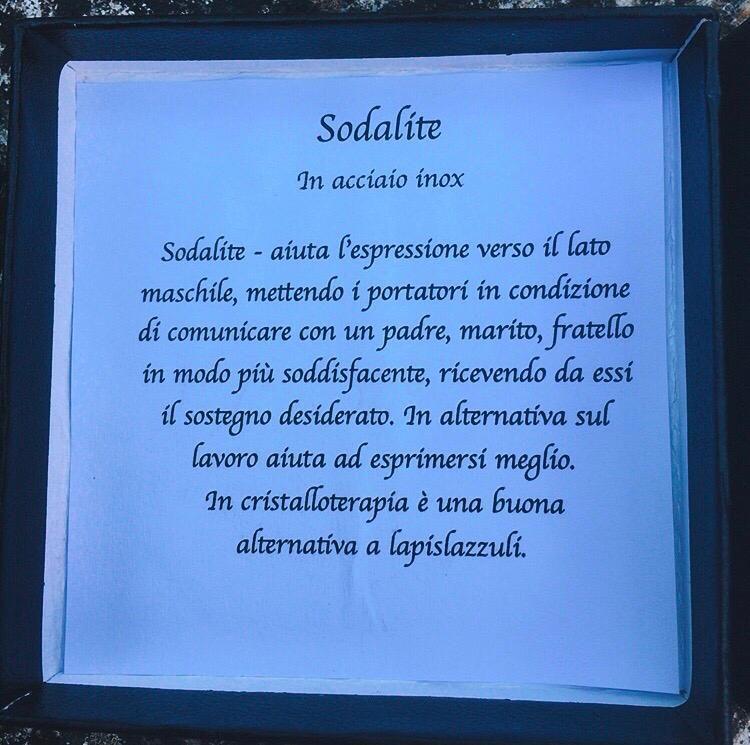 Braccialetto Sodalite BSod13