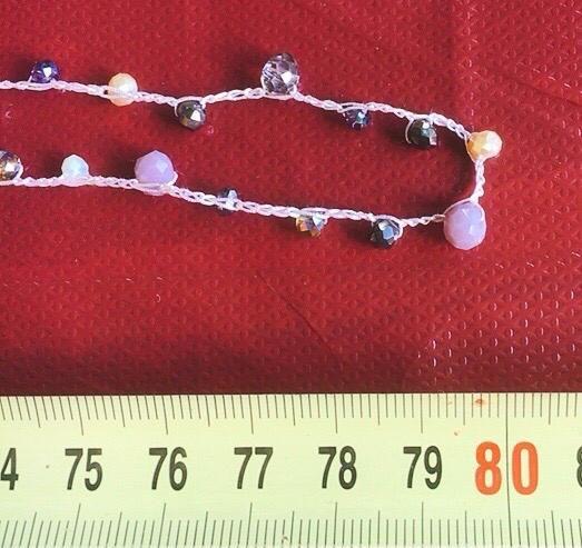 Collana Perline Uncinetto CPer04