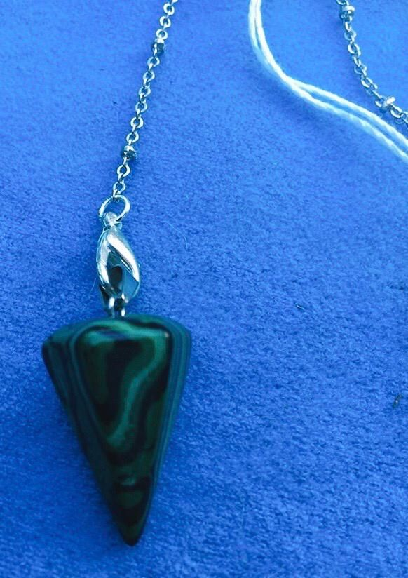 Pendolo in Malachite