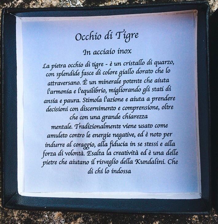 Braccialetto in Occhio di Tigre