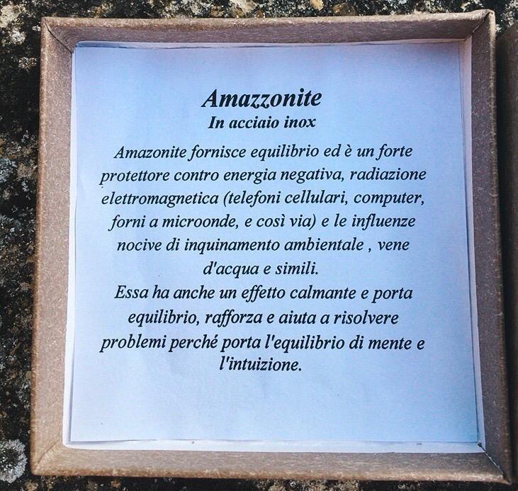 Braccialetto in Amazzonite