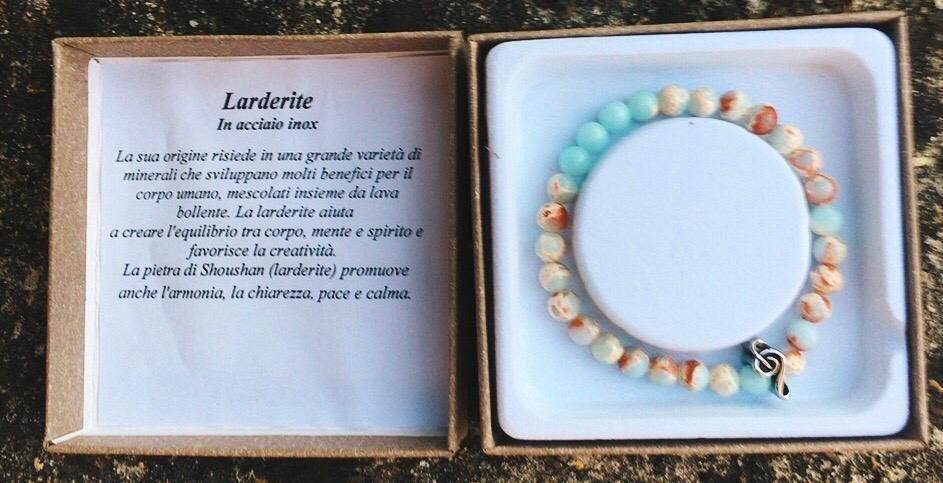 Braccialetto in Larderite BLar01