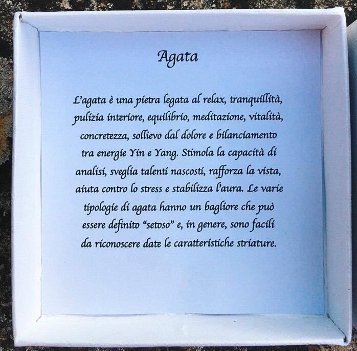 Braccialetto in Agata
