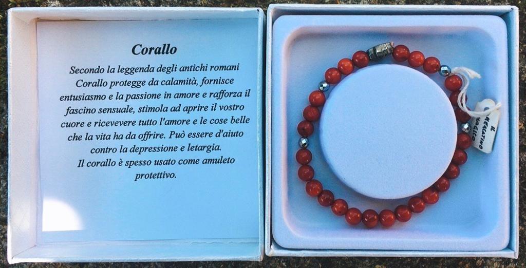 Braccialetto in Corallo BCor01