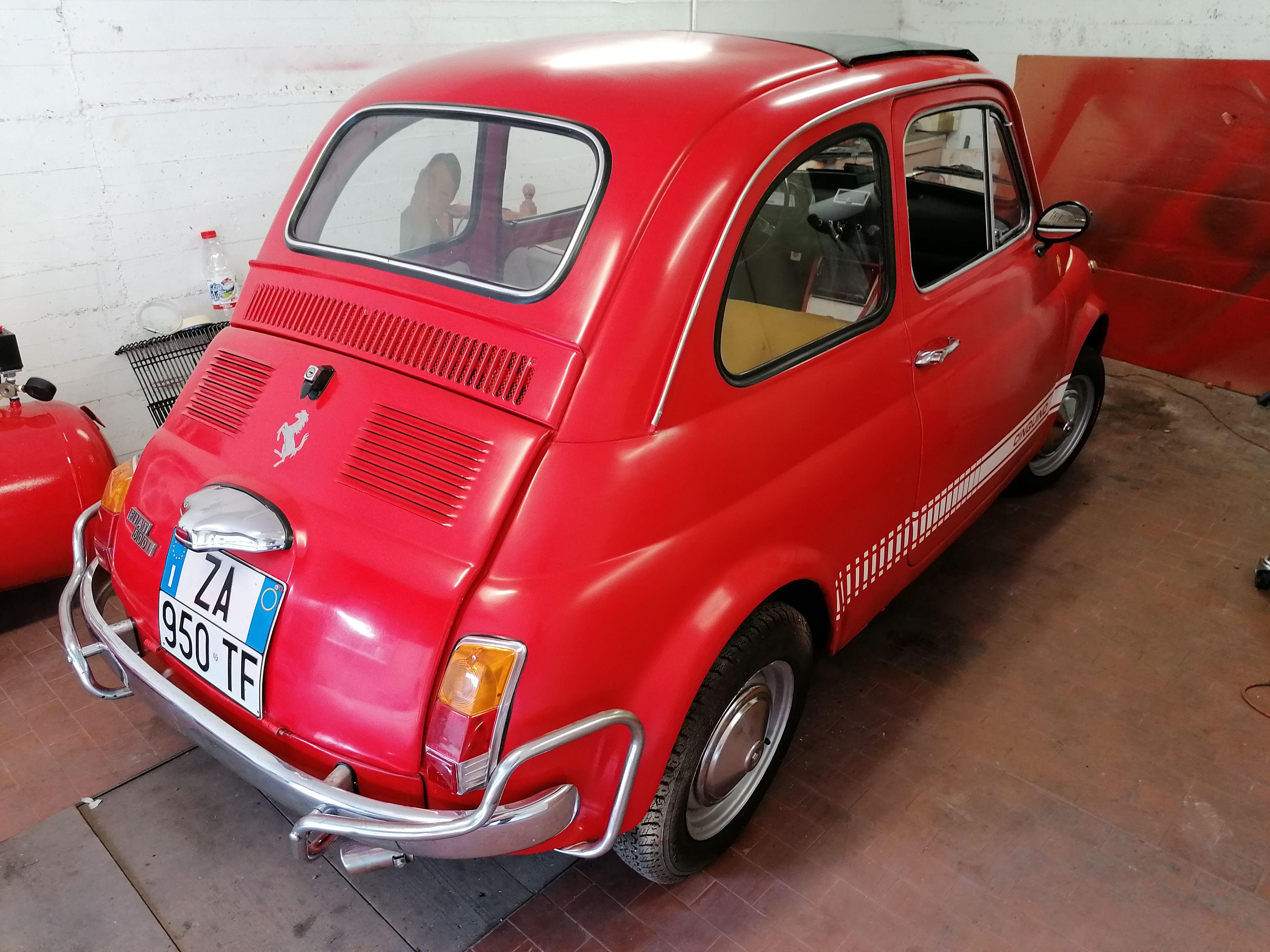 Fiat 500 epoca ASI  Assicurata